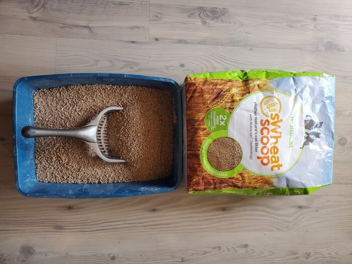 sWheat Scoop Multi-Cat Natural Wheat Cat Litter (1)