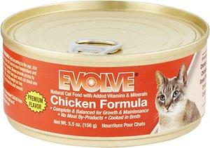 Evolve Chicken Formula Canned Cat Food