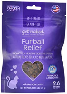 Get Naked Furball Relief Soft Treats for Cats
