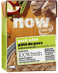 Now Fresh Grain-Free Pork Paté Wet Cat Food
