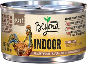 Purina Beyond Indoor Grain-Free Chicken Recipe Canned Cat Food
