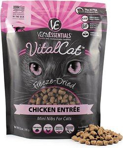Vital Essentials Chicken Mini Nibs Entree Freeze-Dried Cat Food