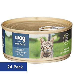 Wag Shredded Salmon Recipe in Gravy Cat Food