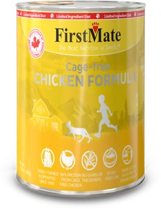 FirstMate Chicken Formula Limited Ingredient Grain-Free Canned Cat Food