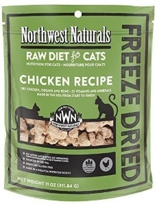 Northwest Naturals Freeze Dried Raw Diet for Cats