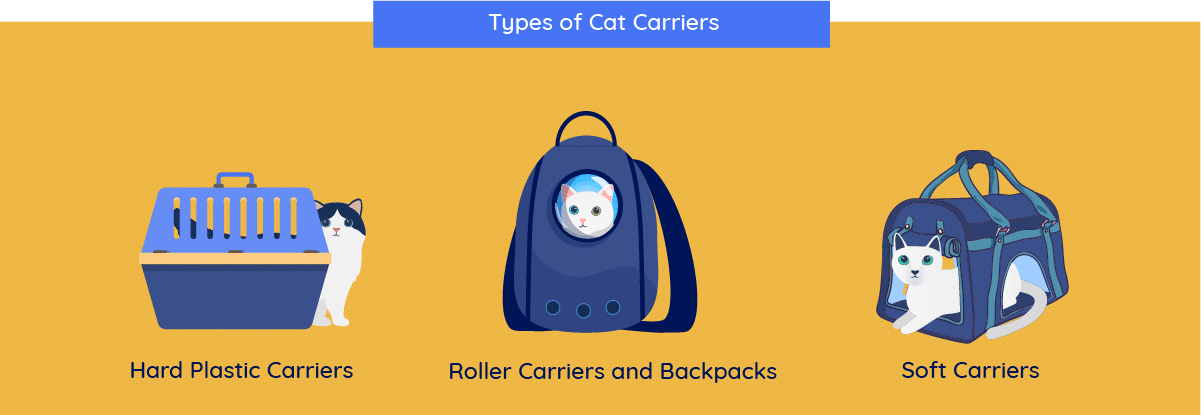 types of cat carries