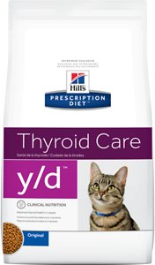 Hills Prescription Diet y-d Thyroid Care Original Dry Cat Food