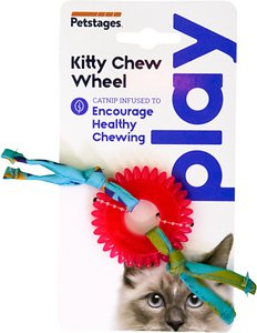 Petstages Dental Kitty Chew Wheel Cat Toy