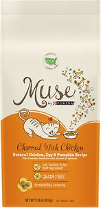Purina Muse Charmed with Chicken Natural Chicken, Egg & Pumpkin Recipe