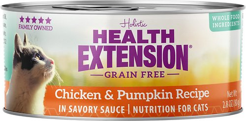 Health Extension Grain-Free Chicken & Pumpkin Recipe Canned Cat Food