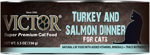 VICTOR Turkey & Salmon Dinner Canned Cat Food