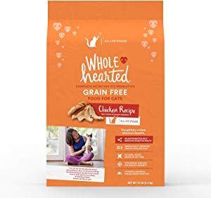 WholeHearted Grain Free Chicken Formula Dry Cat Food