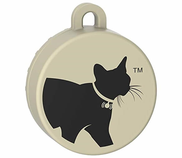 CAT TAILER The Smallest and Lightest Bluetooth Waterproof Cat Tracker with 328 ft Range