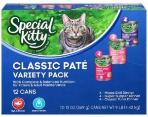 Special Kitty Classic Pate Variety