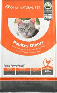Only Natural Pet Dry Cat Food