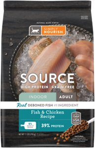 Simply Nourish Source Grain-Free Dry Cat Food
