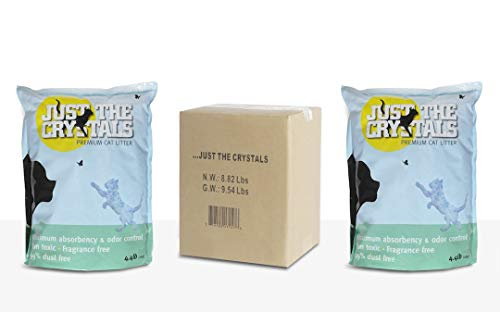Just the Crystals Premium Cat Litter