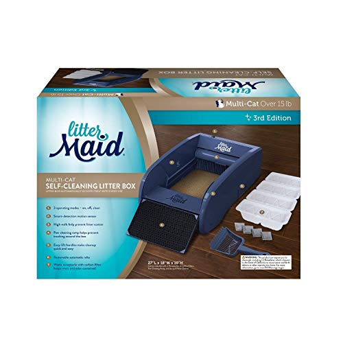 LitterMaid Multi-Cat Self-Cleaning Litter Box, Version 3.2