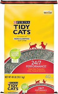 Purina Tidy Cats 24 7 Performance Non-Clumping Cat Litter