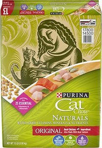 Cat Chow Naturals Original Dry Cat Food