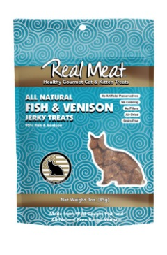 The Real Meat Fish & Venison Cat Treats