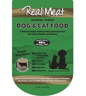 The Real Meat 14oz Beef Dog & Cat Food
