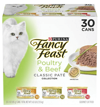 Purina Fancy Feast Poultry & Beef Feast Collection Cat Food