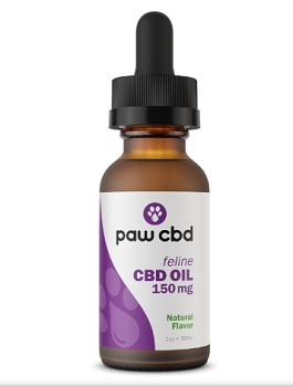 Paw CBD Oil Tincture for Cats