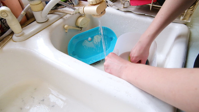 Washing the Capsule by hand